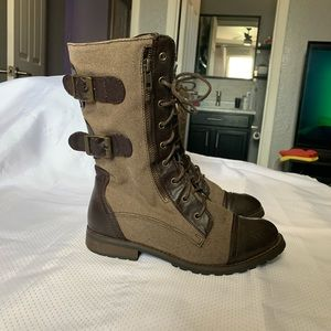 Forever21 combat boots